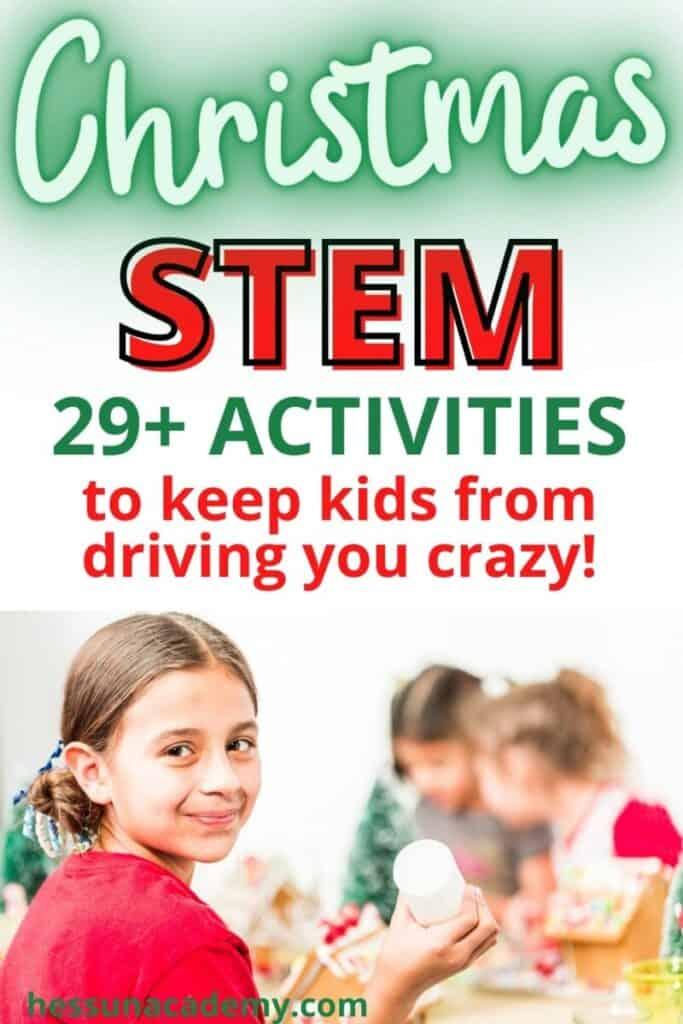 29 Festive Christmas Stem Activities For Kids