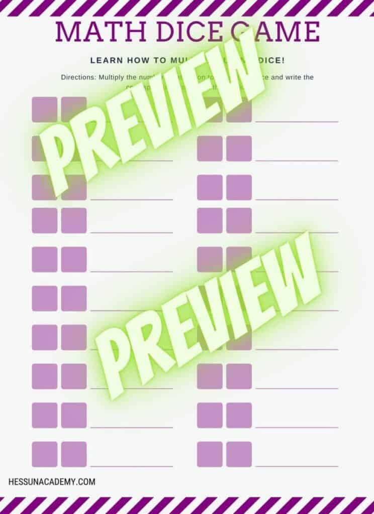 Fun + Free Printable Multiplication Worksheets